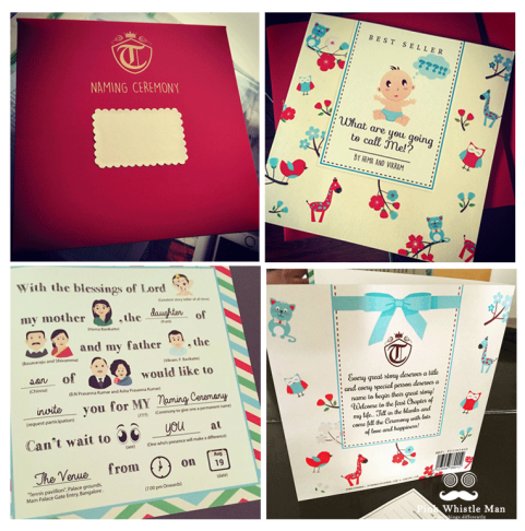 Timeless Tales Invites for a Naming Ceremony
