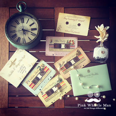 Cassette Wedding Invitation